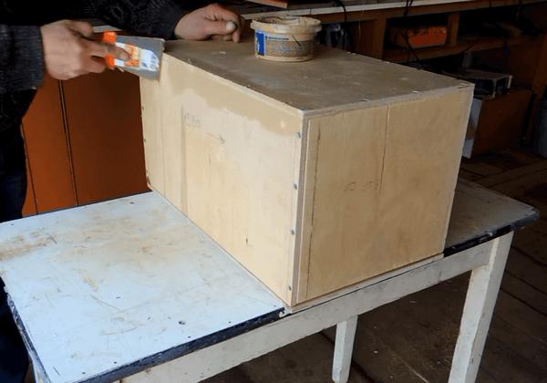 изготовление термоящика