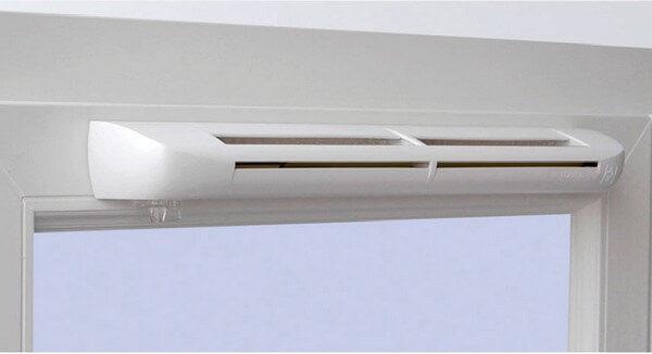оконный клапан для вентиляции
