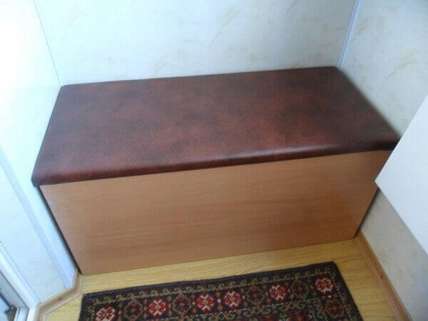 ящик с сиденьем