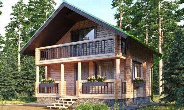 фронтонный балкон