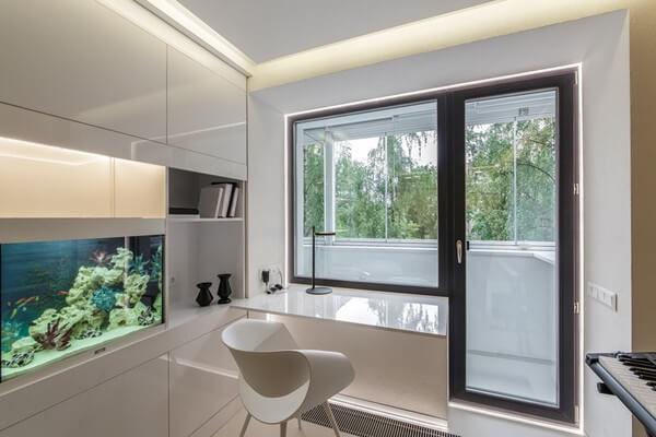 Балконной блок без штор
