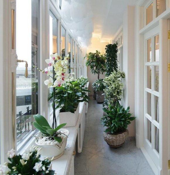 теплоизолированный балкон