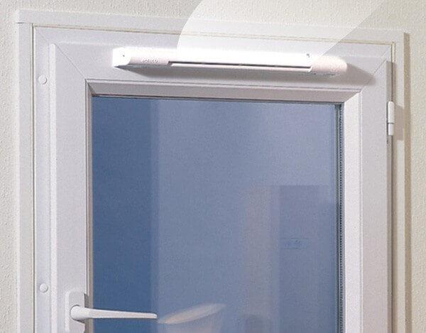 приточный клапан на пластиковое окно