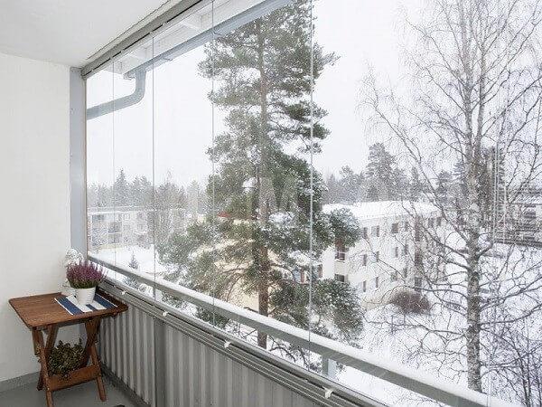 Стильный облик балкона