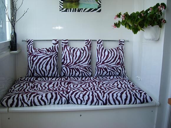 маленький диван на балкон