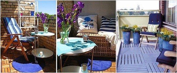 средиземноморские мотивы в дизайне балкона