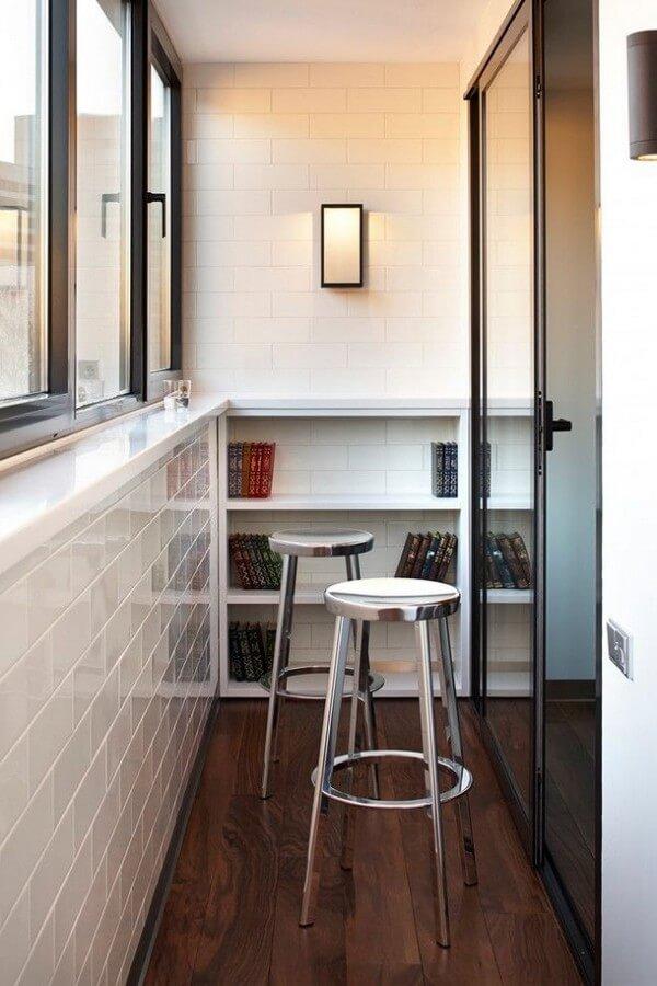 функциональный дизайн балкона