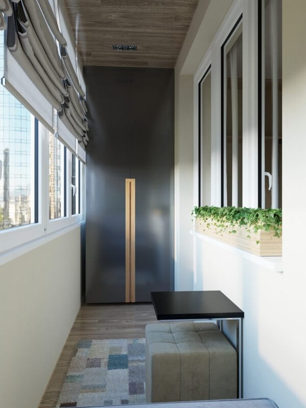 мебель для балкона в современном стиле