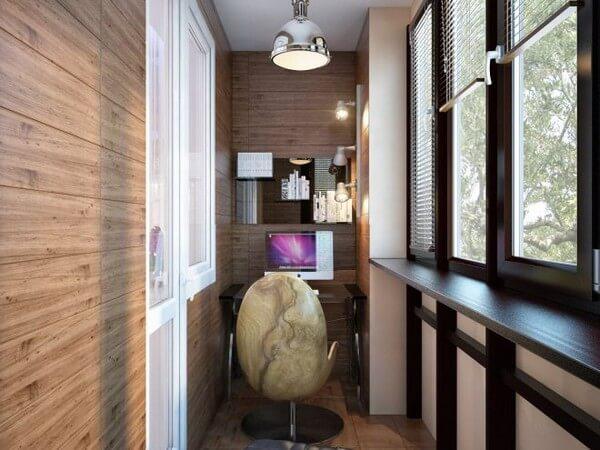 светильники для балкона в современном стиле