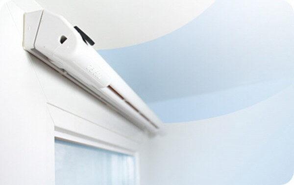 вентиляционный клапан с гигрометром