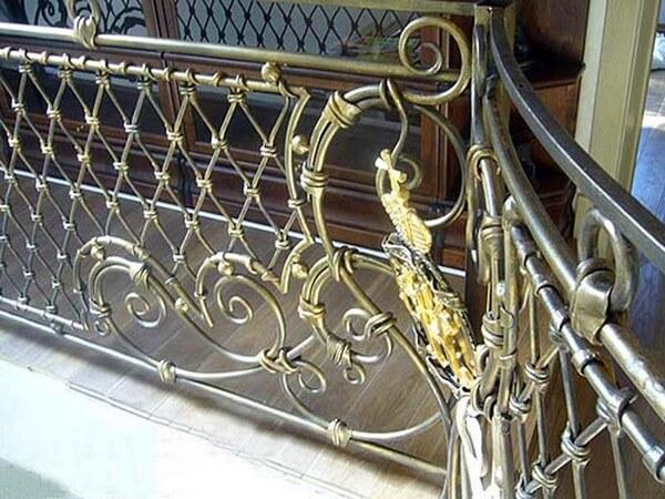 металлические ограждения для балкона
