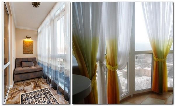 шторы с градиентом