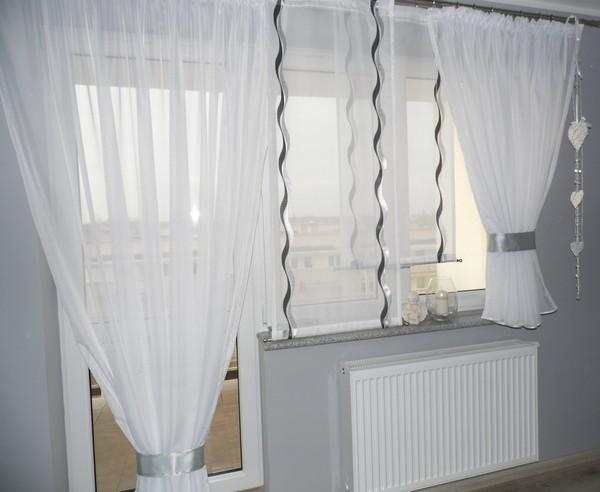 шторы разной длины