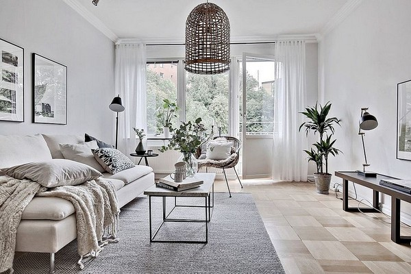 комната в скандинавском стиле