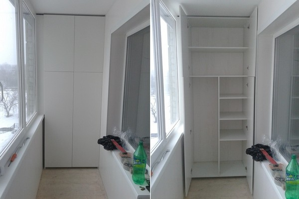 шкаф из гипсокартона