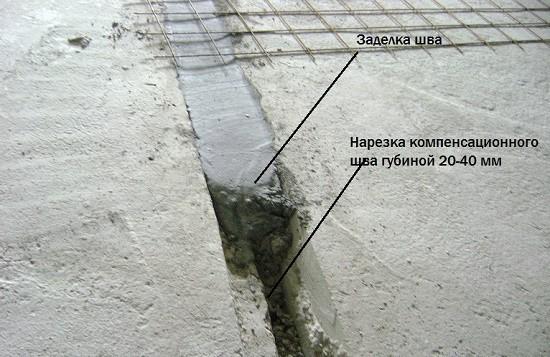 Герметизация швов и трещин на балконе