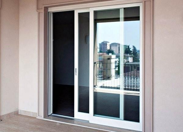 стеклянные раздвижные двери на балкон