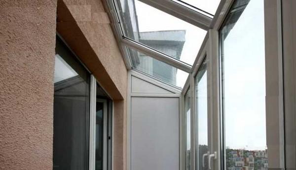Крыша из стеклопакетов