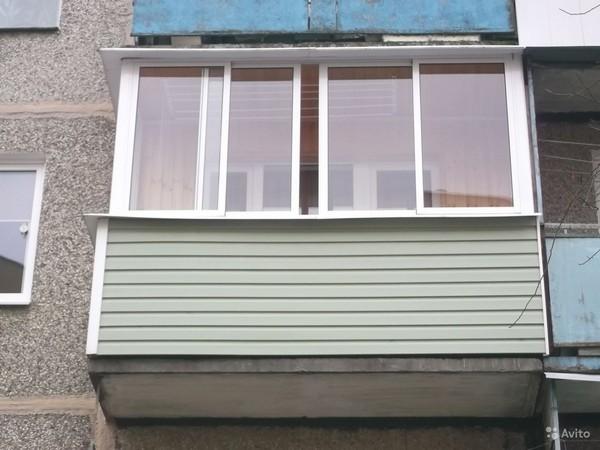 как правильно обшивать балкон сайдингом