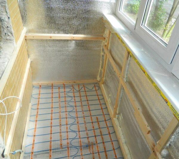 Ремонт и методы термоизоляции балконов и лоджий